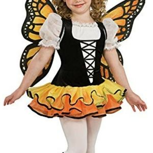 Rubie's Butterfly Kids Costume Size Medium